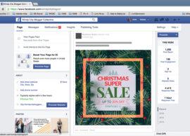 Christmas, Facebook Post Design